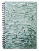 Ice Formations IIi Spiral Notebook