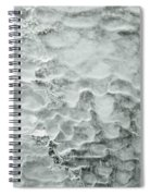 Ice Formations Spiral Notebook