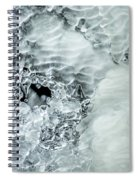 Ice Formations X Spiral Notebook