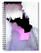Ice Fringe Spiral Notebook