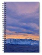 Ice Island Spiral Notebook