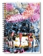 Ice Number Four Spiral Notebook