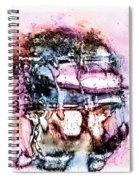 Ice Number Three Spiral Notebook