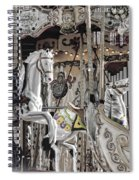 Ice On My Carousel Spiral Notebook