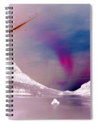 Ice Planet Spiral Notebook