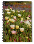 Ice Plant Spiral Notebook