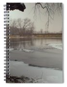 Ice River Spiral Notebook