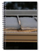 Ice Roof Spiral Notebook