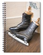 Ice Skates Spiral Notebook