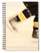 Ice Speed Spiral Notebook