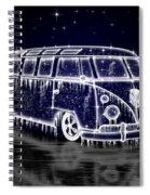 Ice Splitty Spiral Notebook