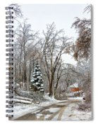 Ice Storm...day 6 Spiral Notebook