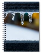 Ice Teeth On Colors Spiral Notebook
