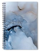Ice Transformation V Spiral Notebook