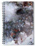 Ice Transformation Vii Spiral Notebook