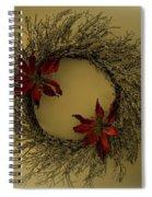 Ice Wreath Spiral Notebook