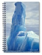 Iceberg Antarctica Spiral Notebook