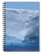 Iceberg With Cape Petrel Spiral Notebook