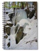 Iced Rocks Spiral Notebook