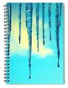 Iced Sky Spiral Notebook
