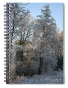 Iced Trees Spiral Notebook