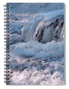 Iced Water Spiral Notebook