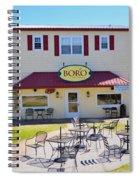 Icehouse Waterfront Restaurant 2 Spiral Notebook