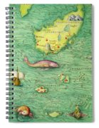 Iceland, From An Atlas Of The World In 33 Maps, Venice, 1st September 1553 Spiral Notebook