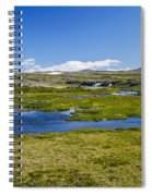 Iceland Panorama Spiral Notebook