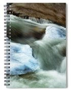 Icicle Creek Spiral Notebook