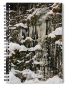 Icicle Rocks Spiral Notebook