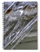 Icicles  Spiral Notebook
