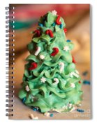 Icing Christmas Tree Spiral Notebook