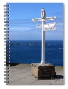 Iconic Lands End England Spiral Notebook