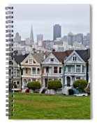 Iconic Painted Ladies Spiral Notebook