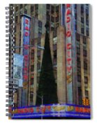 Iconic Radio City Spiral Notebook