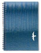 Icy Angel Spiral Notebook
