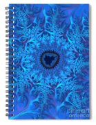 Icy Blue  Spiral Notebook