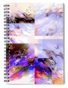 Icy Flames Spiral Notebook