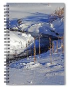 Icy Flow Spiral Notebook