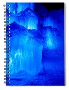 Icy Spiral Notebook