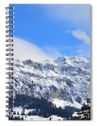 Icy Profile Spiral Notebook