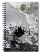 Icy Water Spiral Notebook