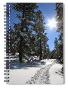 Idaho Blue Bird Day Spiral Notebook