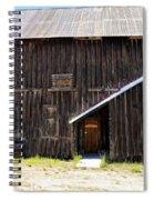 Idaho City Historical Building Spiral Notebook