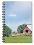 Idaho Falls Barn Spiral Notebook