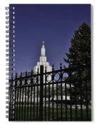 Idaho Falls Temple Series 3 Spiral Notebook