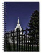 Idaho Falls Temple Series 4 Spiral Notebook