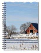 Idaho Falls Winter Spiral Notebook