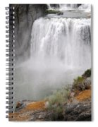 Idaho Waterfall Spiral Notebook